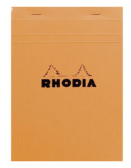 Rhodia Graph Notepad Black