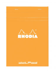 Rhodia Dot Grid Notepad Orange