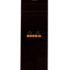 Rhodia Notepad Ruled Black Cover