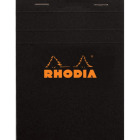 Rhodia Notebpad Cover Black