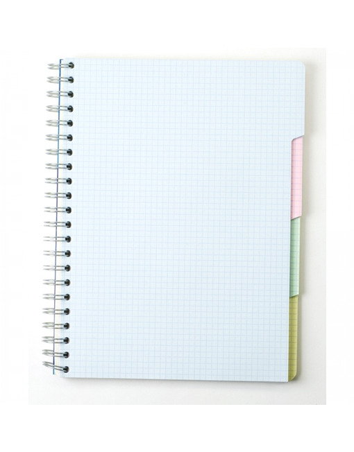 Clairefontaine Classic Notebook Wirebound Multiple Subjects