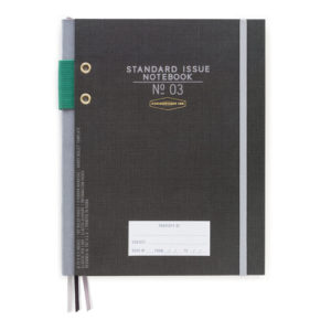 Standard Issue Notebook 03 - Black