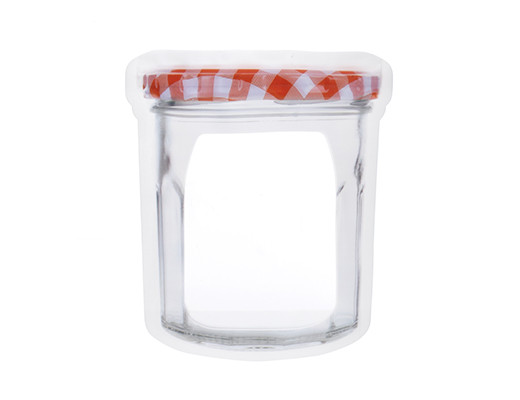 Kikkerland Jam Jar Zipper Bags 16 oz.