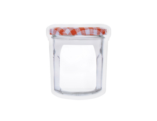Kikkerland Jam Jar Zipper Bags 5 oz.