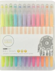 Kaiser Colour Gel Pens - 24 Pens