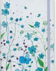 Peter Pauper Press Blue Flowers Journal