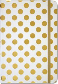 Peter Pauper Press Gold Dots Journal